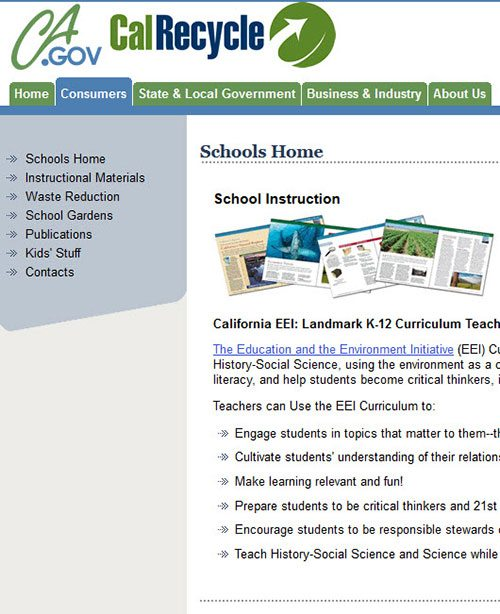 Cal Recycle Schools