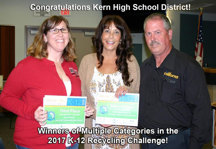 Kern High School District 2017 Winners